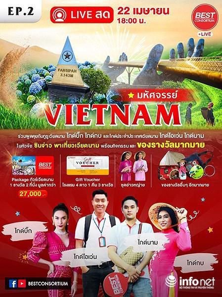 Du khách Thái Lan đến Đà Nẵng tăng đột biến vì… Cầu Vàng! Ảnh 2