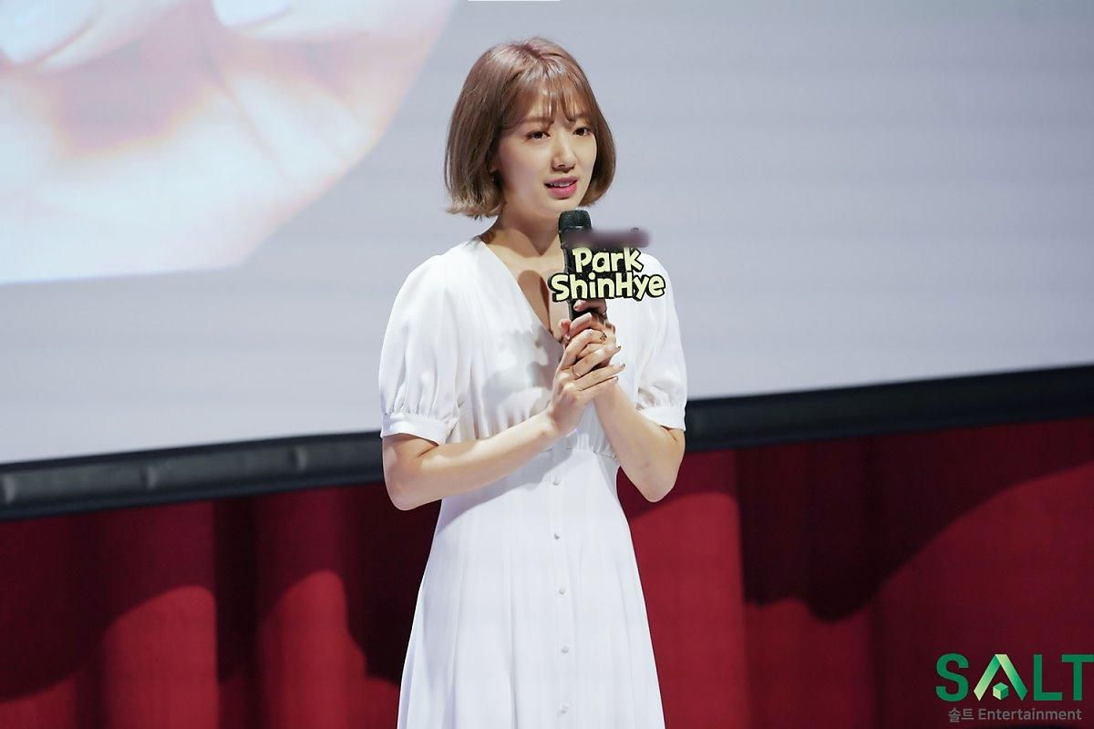 'Nữ thần tháng Tư' Park Shin Hye đẹp xuất sắc trong bộ váy trắng tinh khôi Ảnh 10