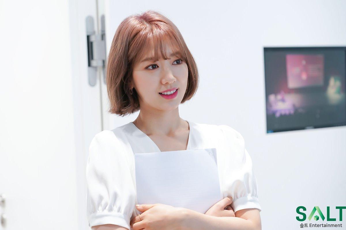 'Nữ thần tháng Tư' Park Shin Hye đẹp xuất sắc trong bộ váy trắng tinh khôi Ảnh 4