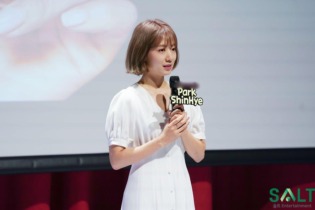 'Nữ thần tháng Tư' Park Shin Hye đẹp xuất sắc trong bộ váy trắng tinh khôi Ảnh 9