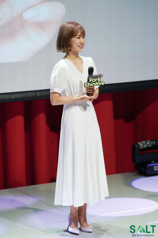 'Nữ thần tháng Tư' Park Shin Hye đẹp xuất sắc trong bộ váy trắng tinh khôi Ảnh 11