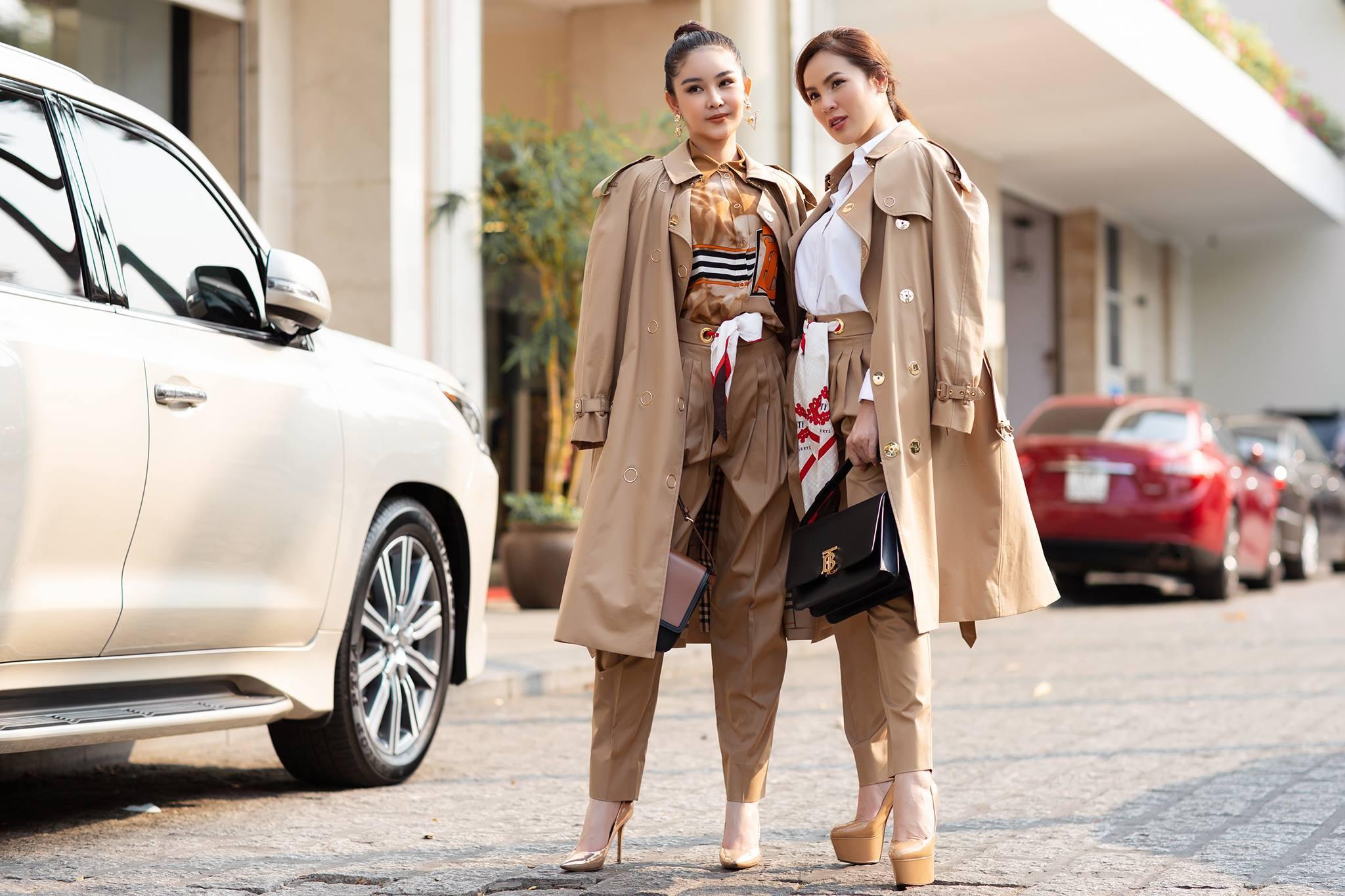 Sài Gòn gần 40 độ, Ngân Anh gây 'hết hồn' khi mặc đồ mùa đông kín mít Ảnh 2