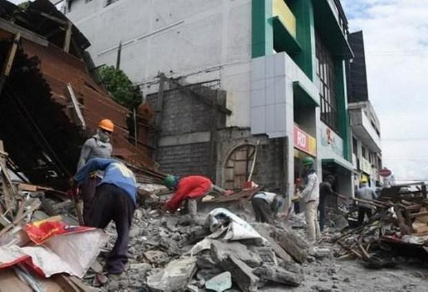 Động đất tại Philippines làm năm người thiệt mạng vì nhà sập Ảnh 1