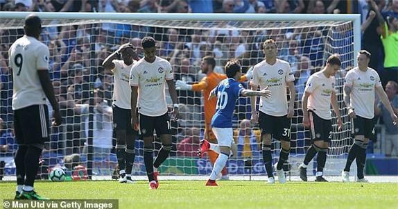 Everton 4-0 M.U: Đến lượt Solsa bị phản? Ảnh 1