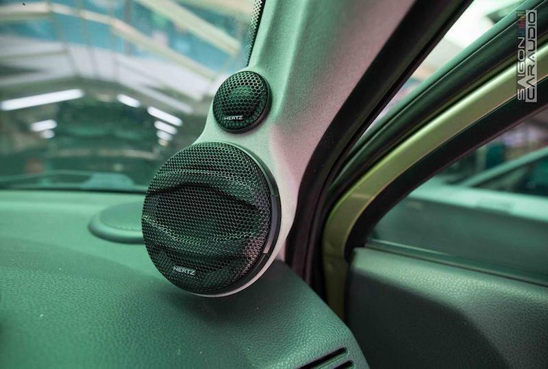 Dân chơi trang bị hệ thống âm thanh 100 triệu đồng cho chiếc Chevrolet Spark chỉ 150 triệu Ảnh 1