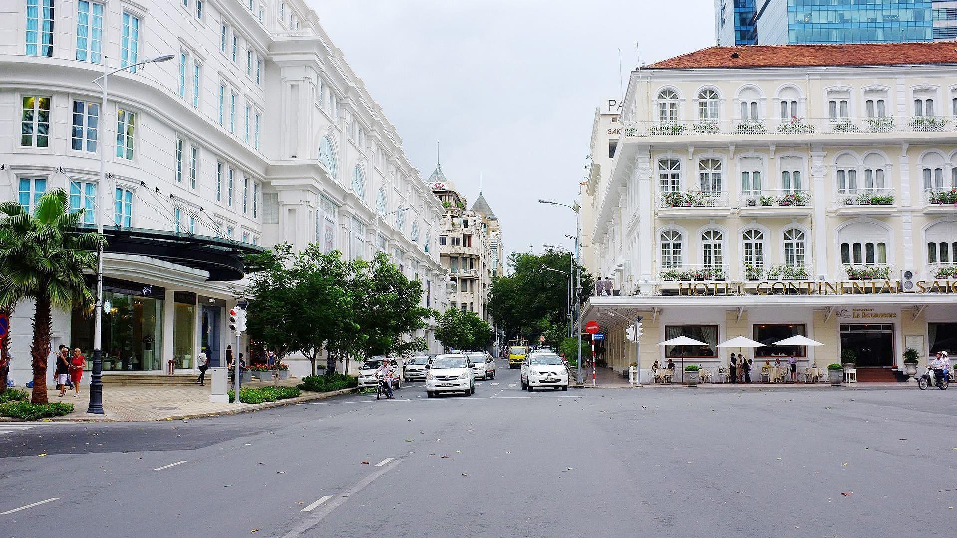 Cấm xe lưu thông hàng loạt tuyến đường trung tâm TPHCM ảnh 1