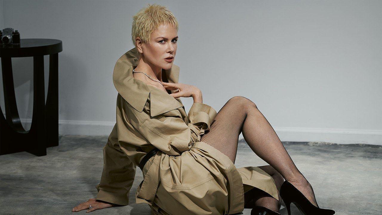 Ngỡ ngàng ngắm Nicole Kidman tóc tém, không nội y quá nóng bỏng Ảnh 6