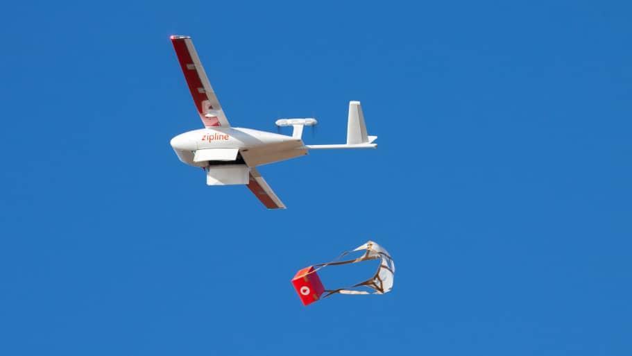 Ra mắt mạng lưới vận chuyển bằng máy bay không người lái lớn nhất thế giới Ảnh 1
