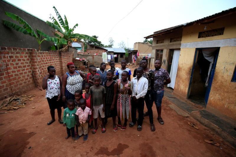 Người mẹ Uganda 39 tuổi vật lộn vì bị chồng bỏ sau khi đẻ 38 đứa con Ảnh 1
