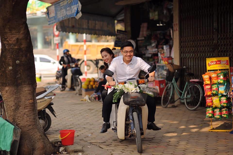 Cặp 9X Thái Nguyên yêu 7 năm và ảnh cưới 'cười không thấy mặt trời' Ảnh 4