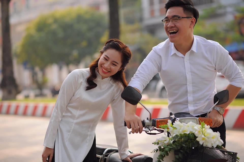 Cặp 9X Thái Nguyên yêu 7 năm và ảnh cưới 'cười không thấy mặt trời' Ảnh 1