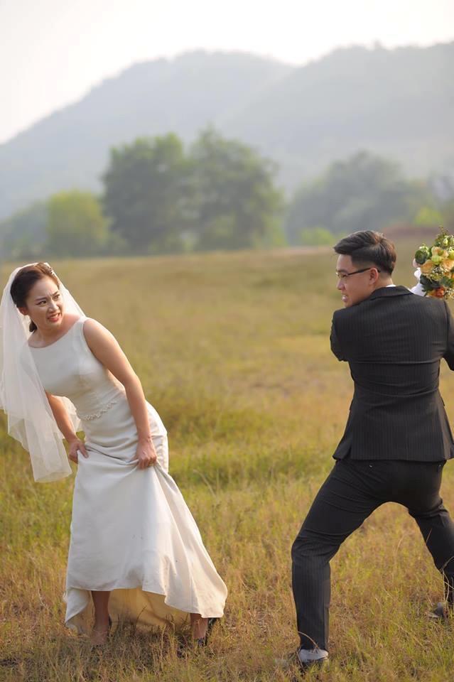 Cặp 9X Thái Nguyên yêu 7 năm và ảnh cưới 'cười không thấy mặt trời' Ảnh 5