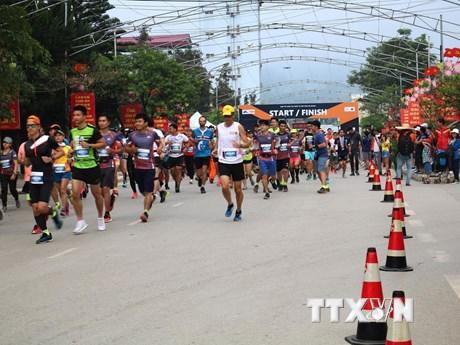 Hà Giang: Hơn 1.000 vận động viên tham gia Giải Marathon Quốc tế ảnh 1