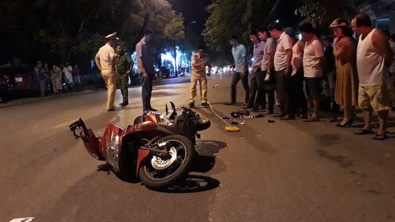 Quảng Trị: Con nhỏ ngồi sau xe mẹ tử vong vì tai nạn giao thông Ảnh 1