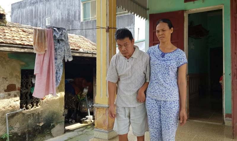 Chồng nhiễm chất độc da cam, vợ ung thư, con viêm thận không nơi bấu víu Ảnh 1