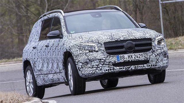 Mercedes-Benz chuẩn bị trình làng mẫu SUV 7 chỗ GLB Ảnh 3
