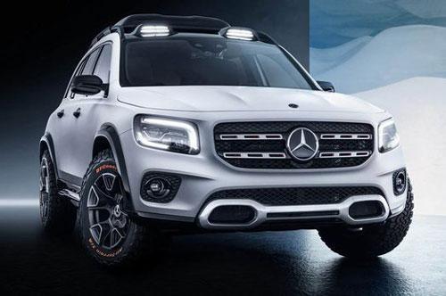 Mercedes-Benz chuẩn bị trình làng mẫu SUV 7 chỗ GLB Ảnh 1