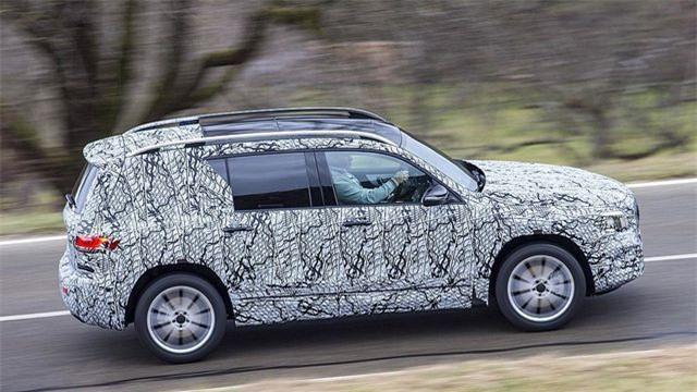 Mercedes-Benz chuẩn bị trình làng mẫu SUV 7 chỗ GLB Ảnh 4
