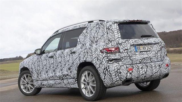 Mercedes-Benz chuẩn bị trình làng mẫu SUV 7 chỗ GLB Ảnh 6