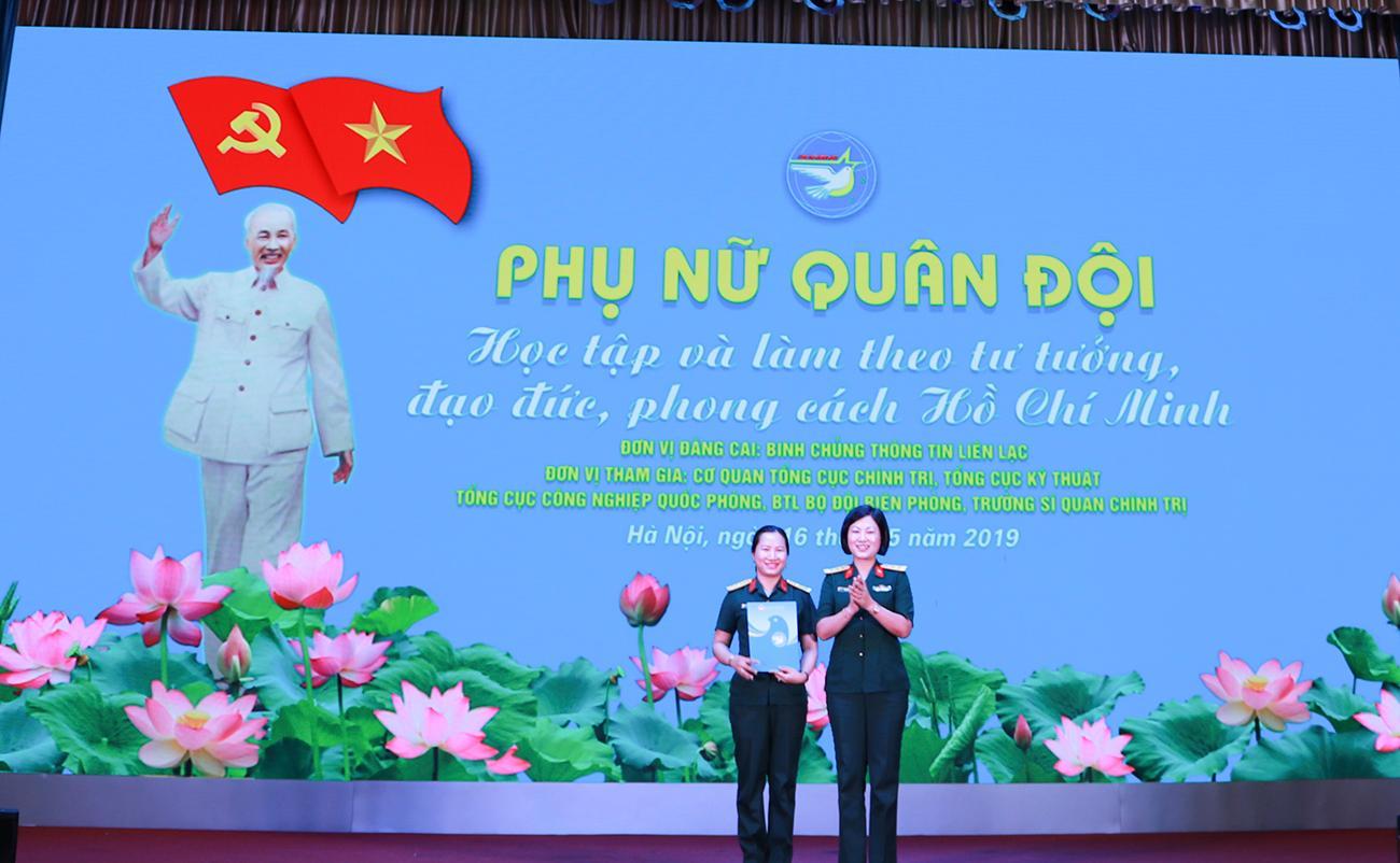 6 đơn vị phụ nữ quân đội lắng đọng với những kỷ niệm về Chủ tịch Hồ Chí Minh Ảnh 2