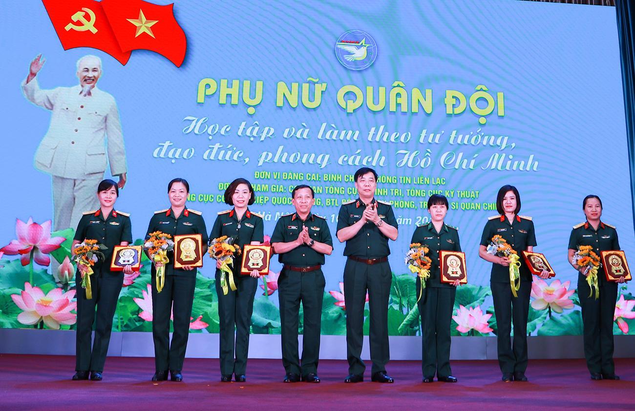 6 đơn vị phụ nữ quân đội lắng đọng với những kỷ niệm về Chủ tịch Hồ Chí Minh Ảnh 1