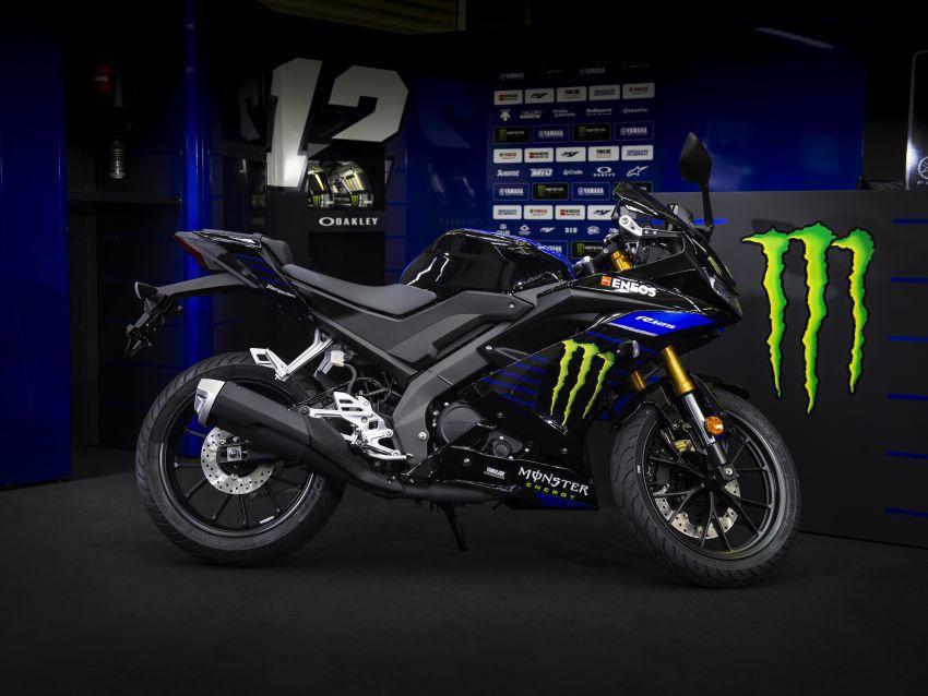 Yamaha YZF-R125 2019 có phiên bản Monster MotoGP mạnh mẽ hơn Ảnh 3