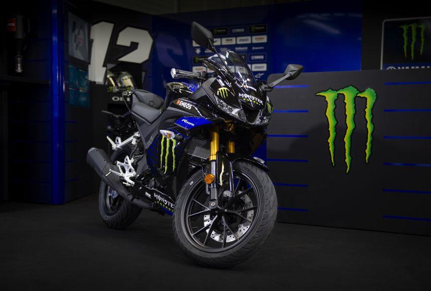 Yamaha YZF-R125 2019 có phiên bản Monster MotoGP mạnh mẽ hơn Ảnh 1