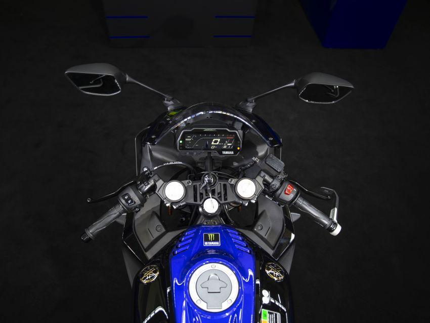 Yamaha YZF-R125 2019 có phiên bản Monster MotoGP mạnh mẽ hơn Ảnh 4