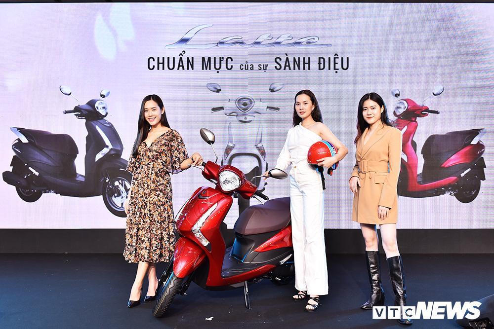Cận cảnh xe máy Yamaha Latte gần 38 triệu đồng vừa 'trình làng' Ảnh 3