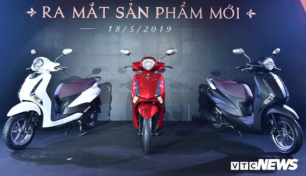 Cận cảnh xe máy Yamaha Latte gần 38 triệu đồng vừa 'trình làng' Ảnh 1