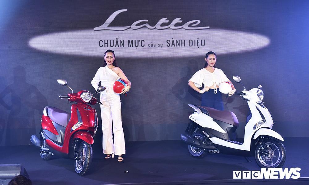 Cận cảnh xe máy Yamaha Latte gần 38 triệu đồng vừa 'trình làng' Ảnh 2