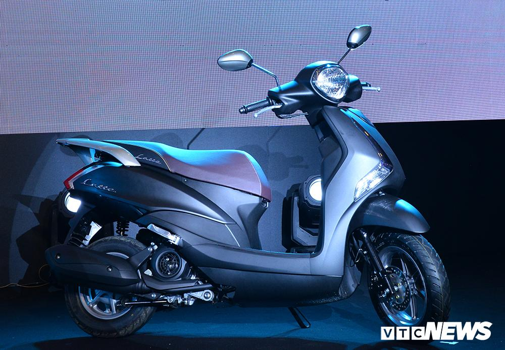 Cận cảnh xe máy Yamaha Latte gần 38 triệu đồng vừa 'trình làng' Ảnh 4