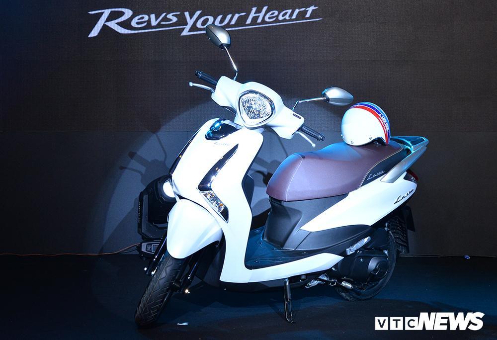 Cận cảnh xe máy Yamaha Latte gần 38 triệu đồng vừa 'trình làng' Ảnh 5