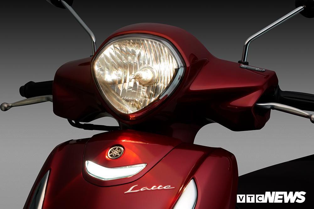 Cận cảnh xe máy Yamaha Latte gần 38 triệu đồng vừa 'trình làng' Ảnh 7