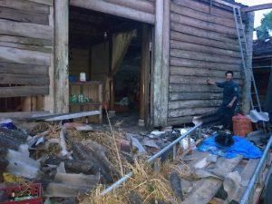 Hà Tĩnh: Mưa lớn kèm theo lốc xoáy khiến nhiều nhà dân bị tốc mái Ảnh 1