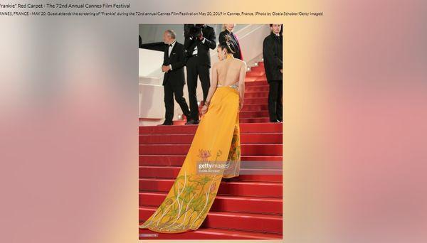 Khắc hẳn Ngọc Trinh, Nhã Phương, Tuyết Nga, Lý Nhã Kỳ khiến fan tự hào vì mang văn hóa Việt tới Cannes Ảnh 14