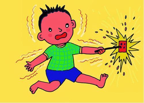 Bệnh nhi bị điện giật, bỏng 40% cơ thể Ảnh 1