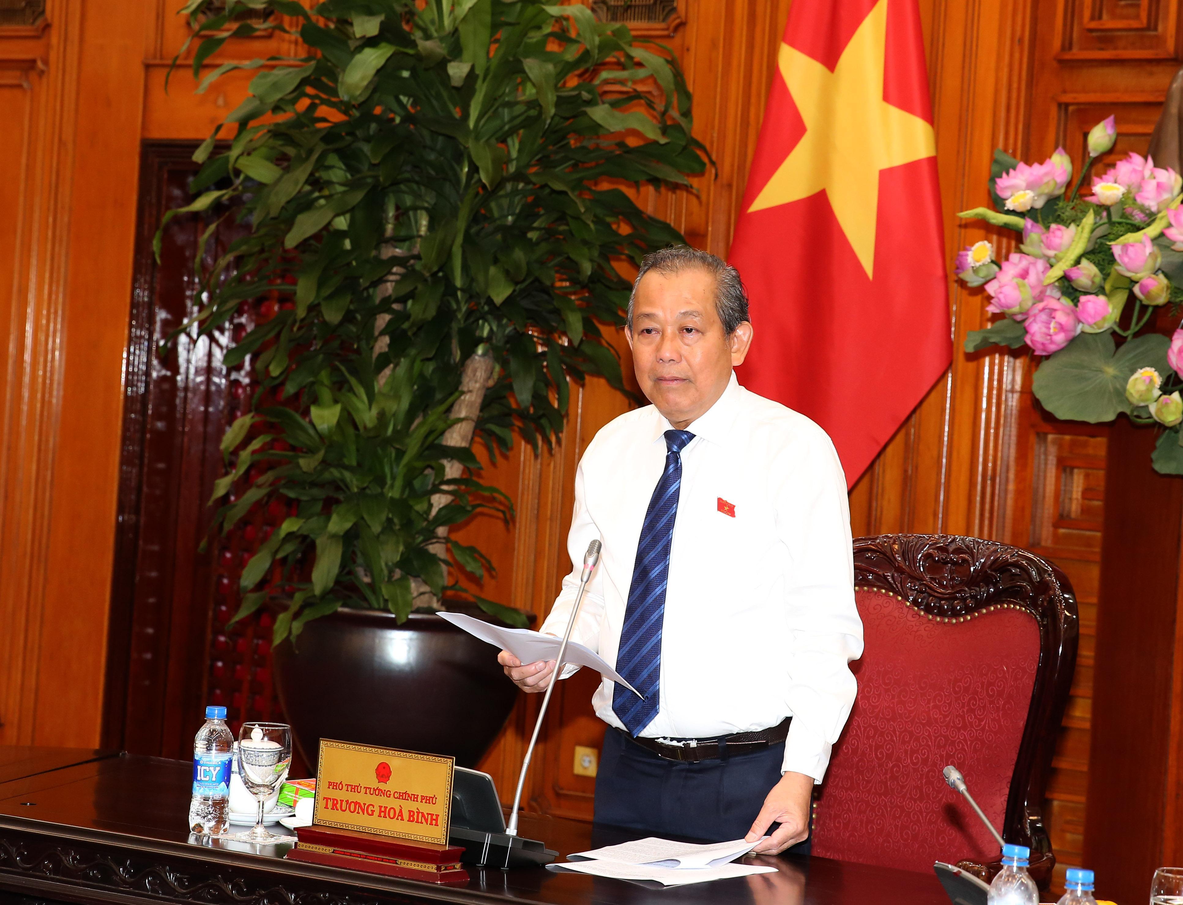 Phó Thủ tướng Trương Hòa Bình tiếp Đoàn người có công tỉnh Nghệ An Ảnh 2