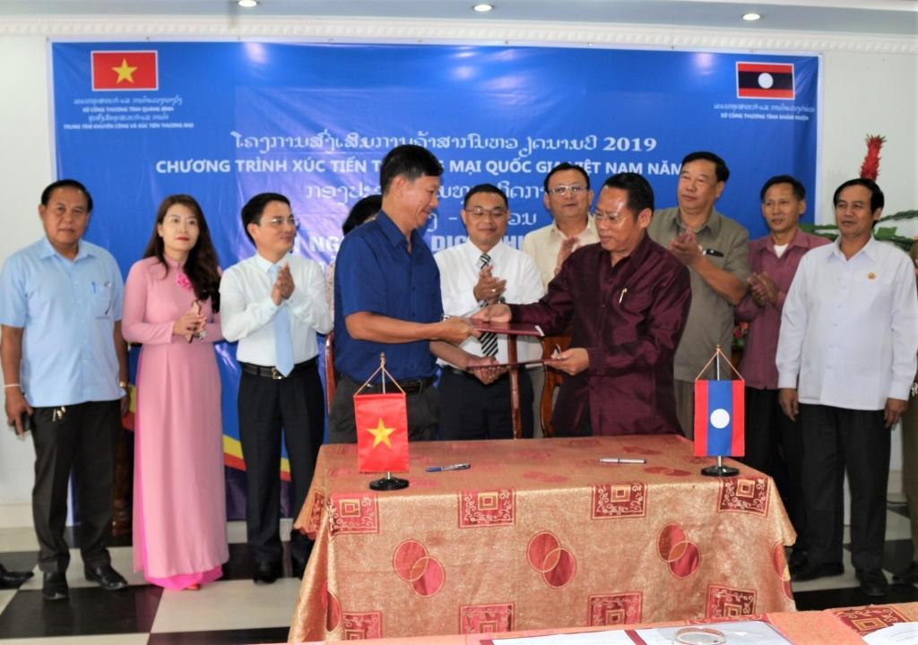 Quảng Bình: Ngành Công Thương kết nối giao thương tại Thái Lan, Lào Ảnh 2