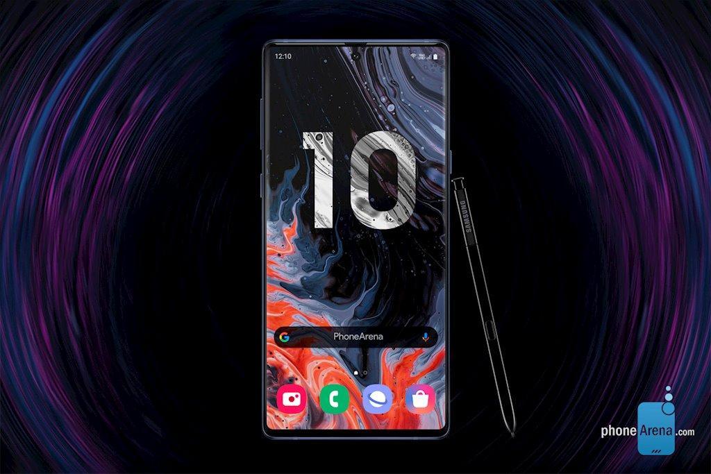 Bản dựng Galaxy Note 10 siêu đẹp với 4 camera dọc Ảnh 1