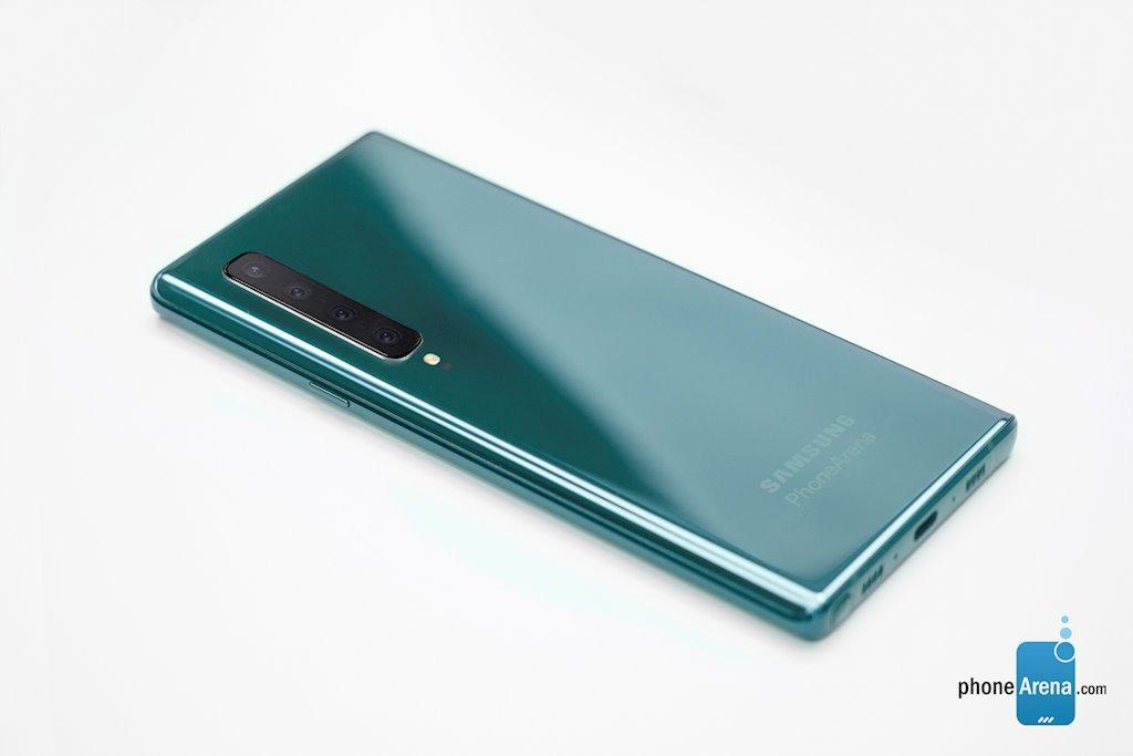 Bản dựng Galaxy Note 10 siêu đẹp với 4 camera dọc Ảnh 4