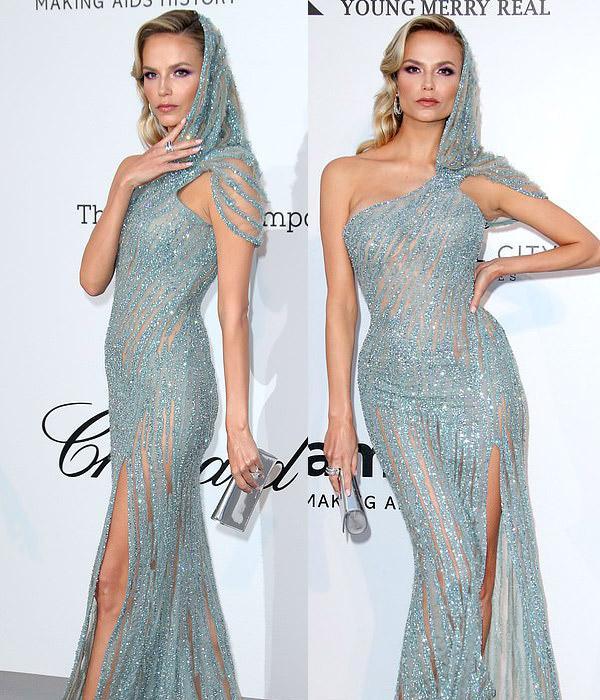 Dàn siêu mẫu 'thác loạn' nhiệt tình trong tiệc thời trang hậu Cannes Ảnh 7