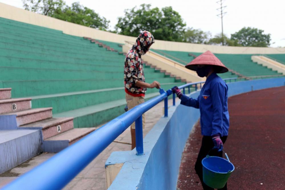 Cận cảnh sân vận động mới tinh sắp tổ chức trận U23 Việt Nam vs U23 Myanmar Ảnh 6