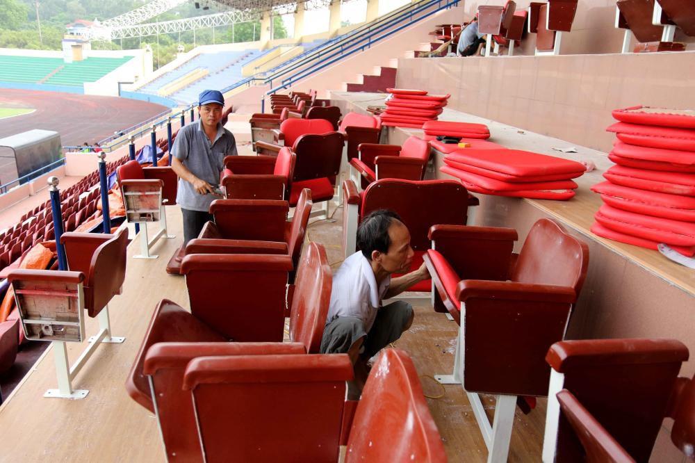 Cận cảnh sân vận động mới tinh sắp tổ chức trận U23 Việt Nam vs U23 Myanmar Ảnh 7