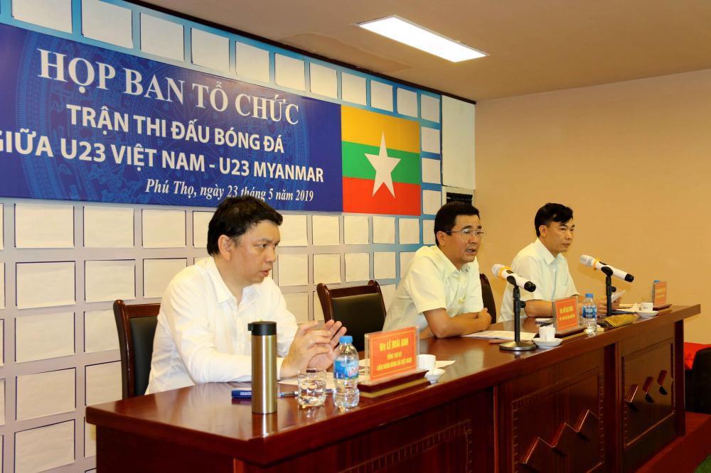 Cận cảnh sân vận động mới tinh sắp tổ chức trận U23 Việt Nam vs U23 Myanmar Ảnh 3
