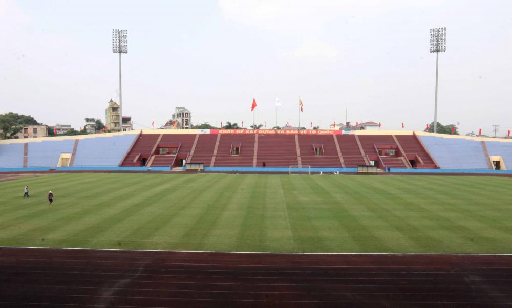 Cận cảnh sân vận động mới tinh sắp tổ chức trận U23 Việt Nam vs U23 Myanmar Ảnh 1