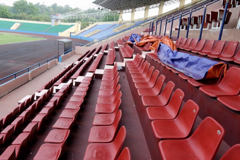 Cận cảnh sân vận động mới tinh sắp tổ chức trận U23 Việt Nam vs U23 Myanmar Ảnh 5