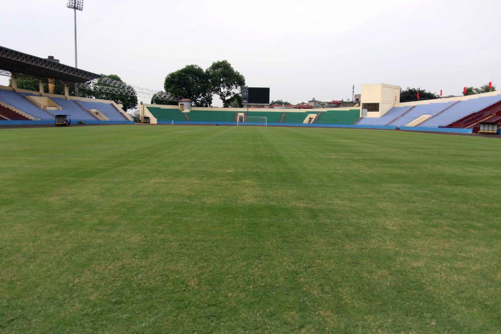 Cận cảnh sân vận động mới tinh sắp tổ chức trận U23 Việt Nam vs U23 Myanmar Ảnh 2