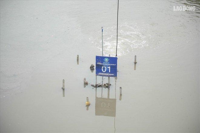 Nước sông Tô Lịch đổi màu tích cực sau 2 tuần áp dụng công nghệ Nhật Ảnh 1