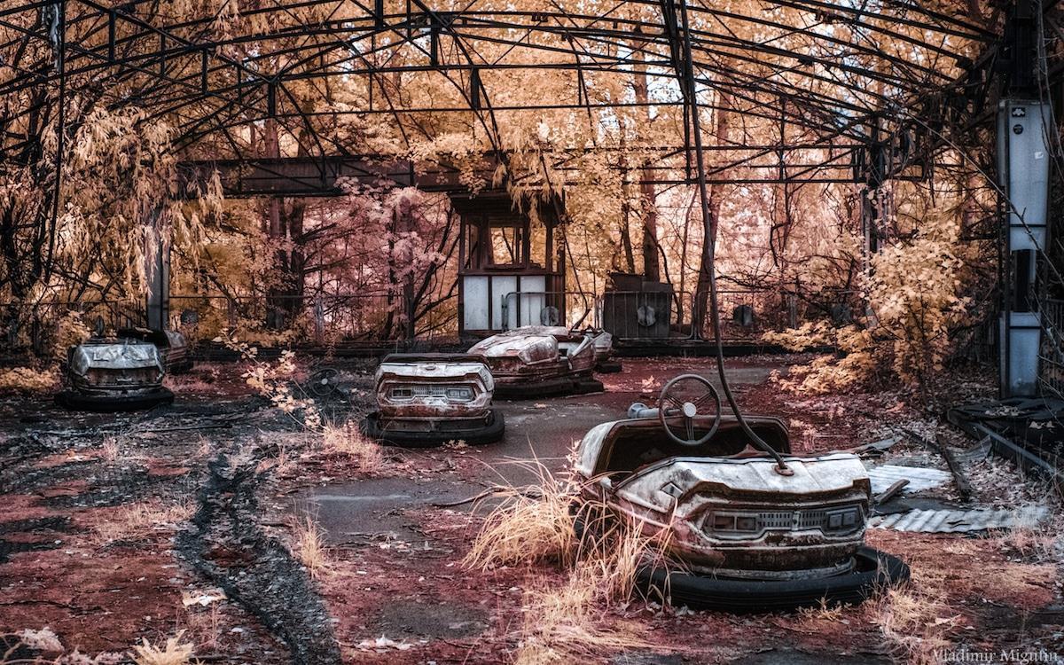 Vùng đất chết Chernobyl hóa xứ thần tiên qua ống kính nhiếp ảnh gia Ảnh 4
